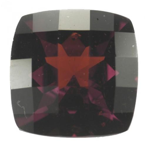 Cushion Checker Board Garnet