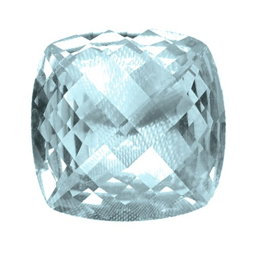 Cushion Shape Aquamarine