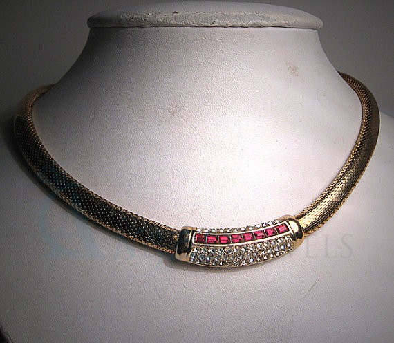 Choker Ruby Necklace