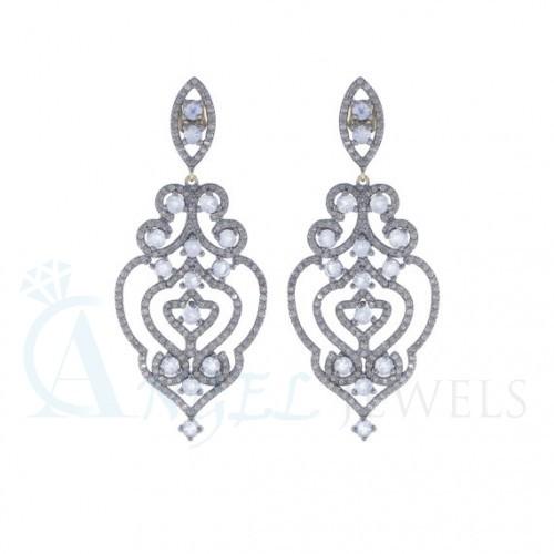 gemstone designer earrings