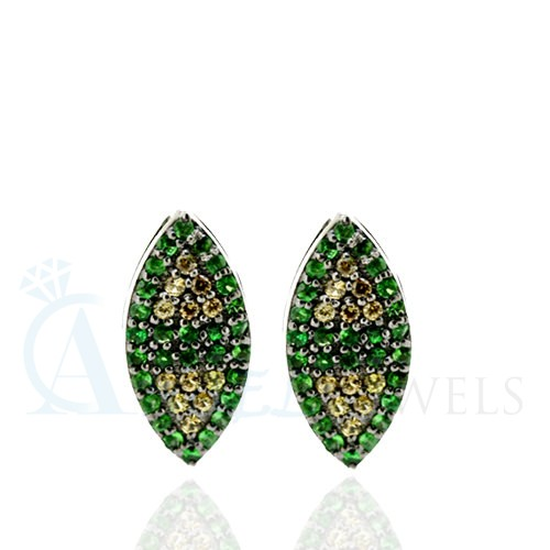 gemstone designer earrings