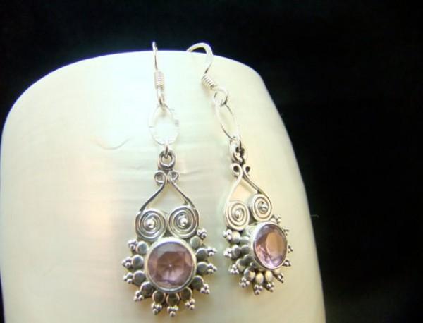 gemstone jewelry silver