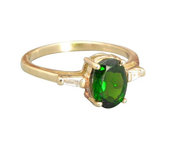 gold gemstone rings