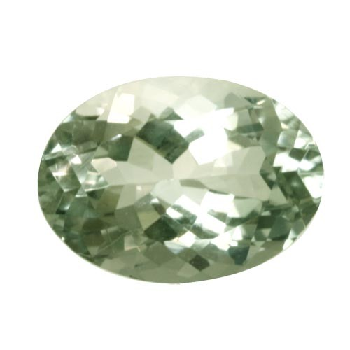 Green Oval Amethyst