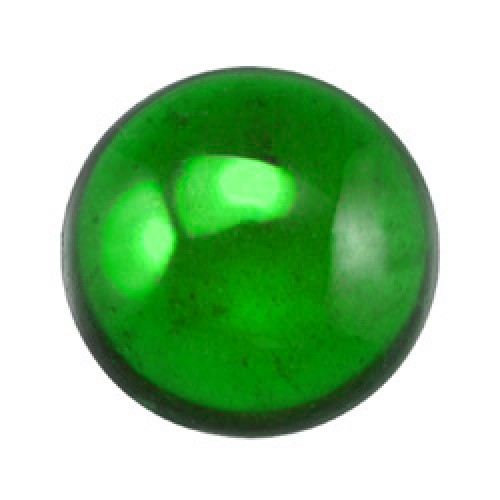 Green Round Chrome Diopside