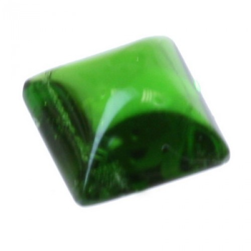 Green Square Sugar Loaf Chrome Diopside