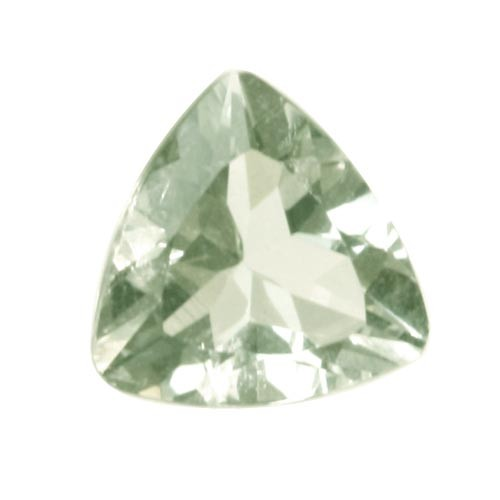 Green Trillion Amethyst