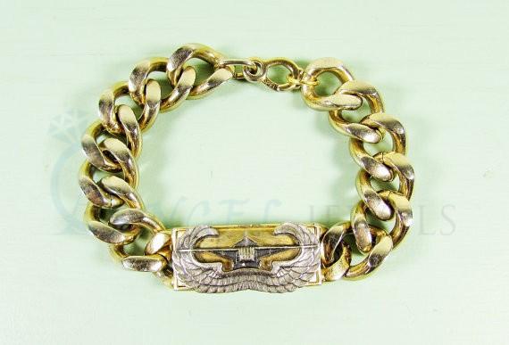 mens gold bracelet