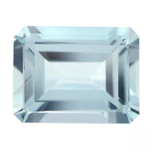 Octagon Shape Aquamarine