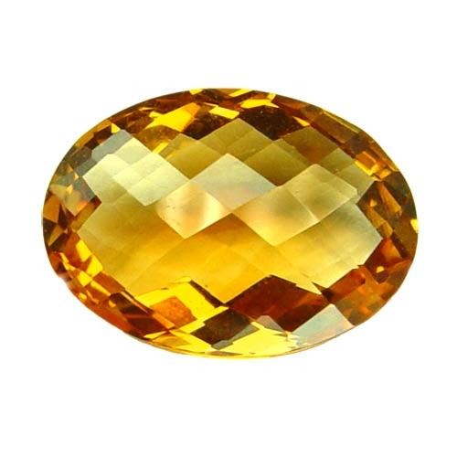 Oval Rare Large Golden Fluorite