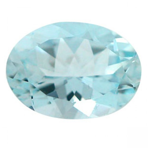 Oval Shape Aquamarine