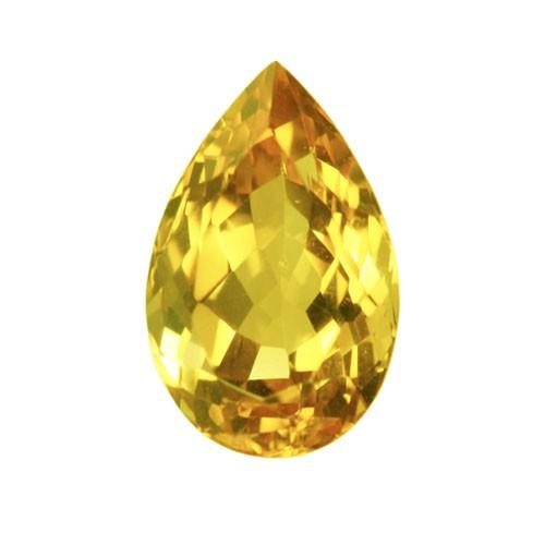Pear Rare Large Golden Fluorite