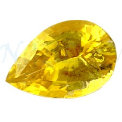 Pear Yellow Sapphire
