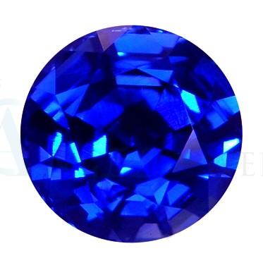 Round Blue Sapphire