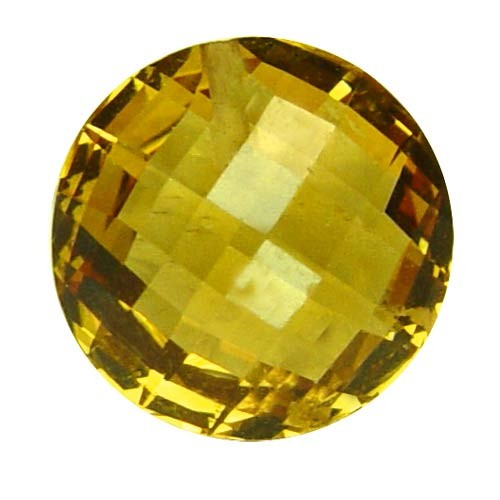 Round Rare Large Golden Fluorite