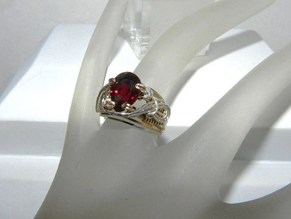 ruby gemstone designer ring