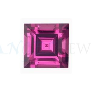 Square Pink Sapphire