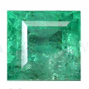 Square Shape Emerald