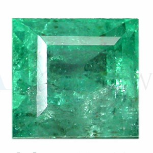 Square Shape Emerald