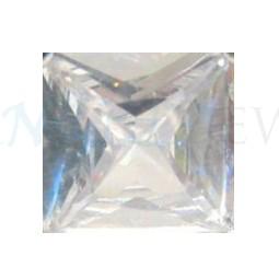 Square White Sapphire