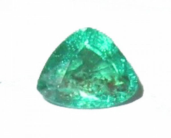 Trillion Shape Emerald